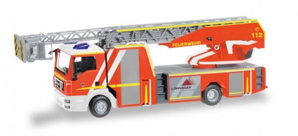 """HERPA 093064 MAN TGM Metz Drehleiter 32 XS """"Feuerwehr Göppingen"""""""