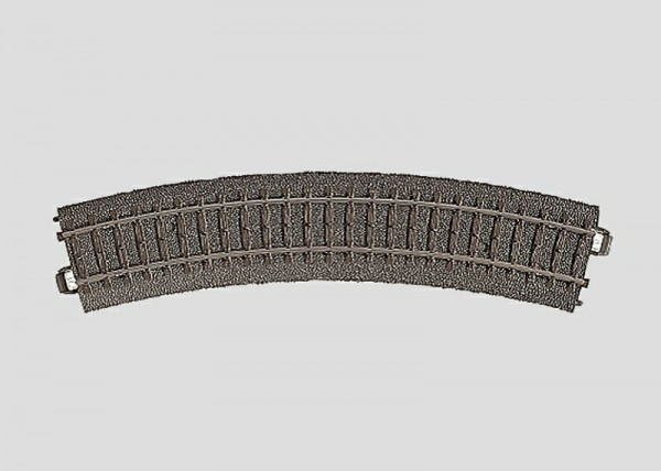 Märklin 24130 Gebogenes Gleis R1 = 360 mm / 30°