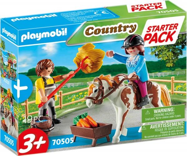 PLAYMOBIL® 70505 Starter Pack Reiterhof Ergänzungsset