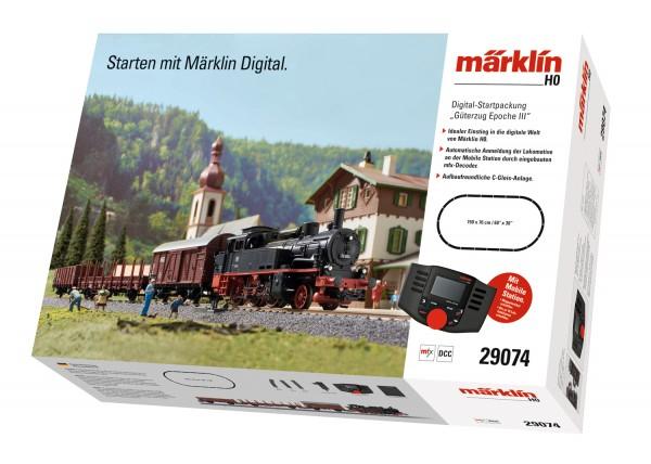 """Märklin 029074 Digital-Startpackung """"Güterzug Epoche III"""""""