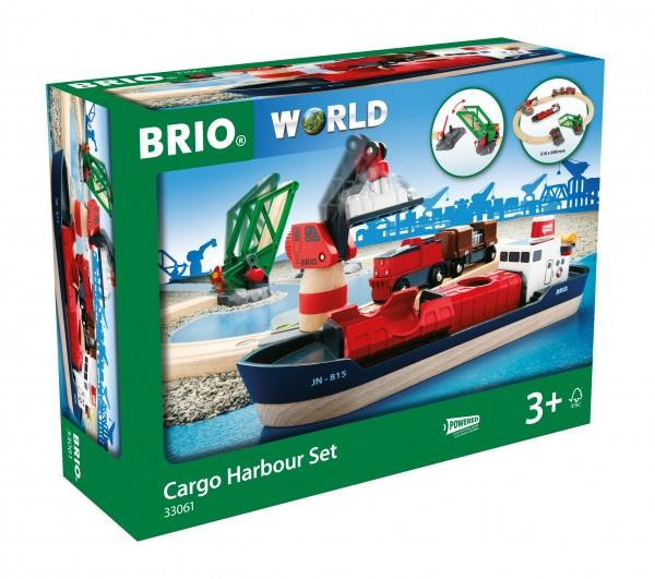 BRIO 33061 BRIO Container Hafen - Set