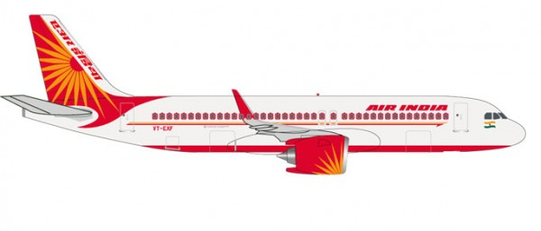 HERPA 531177 Air India Airbus A320neo - VT-EXF