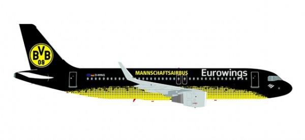 "HERPA 558167 Eurowings Airbus A320 ""BVB Mannschaftsairbus"""