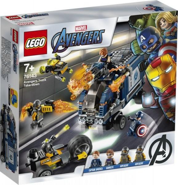 LEGO® Marvel Super Heroes# 76143 Avengers Truck-Festnahme