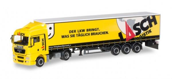 HERPA 919173 MAN TGX XLX Sattelzug Lasch (A)