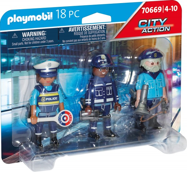 PLAYMOBIL® 70669 Figurenset Polizei
