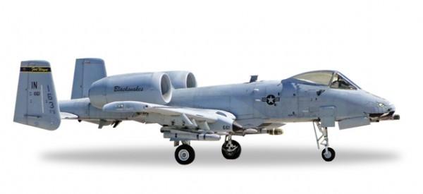 "HERPA 558433 Fairchild A-10C Thunderbolt II USAF Indiana ANG - 163rd FS ""Blacksnakes"""