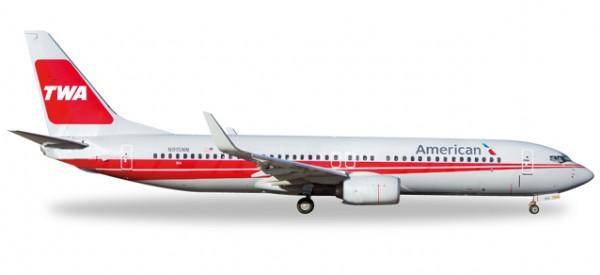 HERPA 529259 American Airlines® Boeing 737-800, TWA Heritage Livery