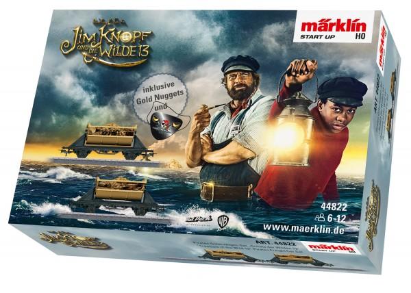 """Märklin 44822 Märklin Start up - Piraten Güterwagen-Set """"Schatz der Wilden 13"""""""