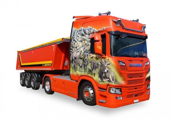 HERPA 932202 Scania CR20 HD Kipp Sattelzug Mayolani