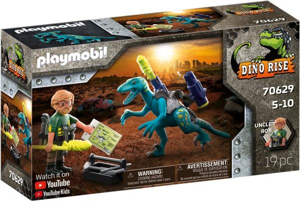 PLAYMOBIL® 70629 Uncle Rob: Aufrüstung zum Kampf