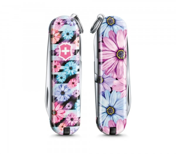 VICTORINOX 0.6223.L2107 Classic SD, 58 mm Limited Edition 2021, Dynamic Floral , Faltschachtel