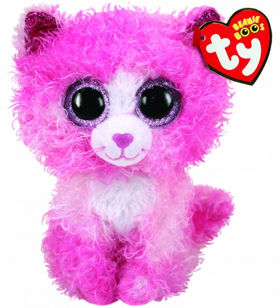 TY 36308 REAGAN PINK CAT 15 cm