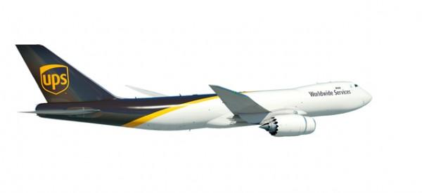 HERPA 531023 UPS Airlines Boeing 747-8F - N605UP