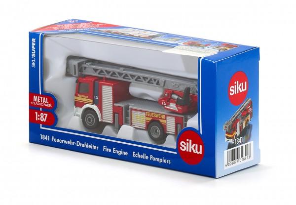 SIKU 1841 Feuerwehrdrehleiter