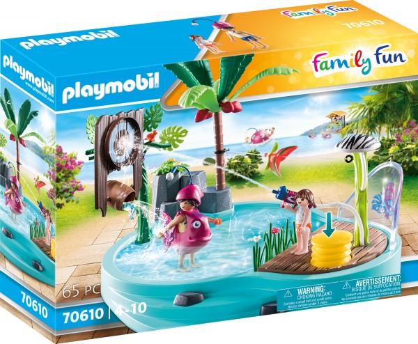 PLAYMOBIL® 70610 Spaßbecken mit Wasserspritze