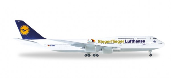 """HERPA 530033 Boeing 747-8 Intercontinental Lufthansa """"Siegerflieger Paralympics Rio '16"""""""