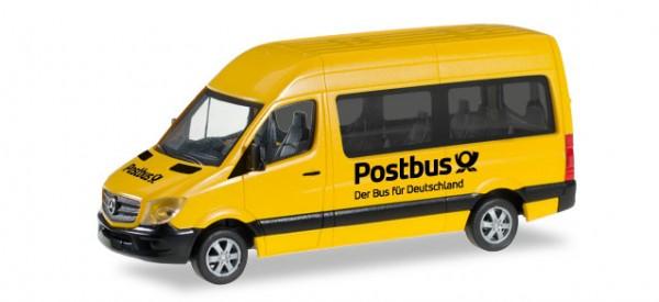"""HERPA 092531 Mercedes-Benz Sprinter 2013 Bus Hochdach """"Postbus"""""""