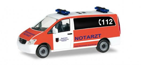 """HERPA 091985 Mercedes-Benz Vito Bus NEF """"Feuerwehr Hürth"""""""