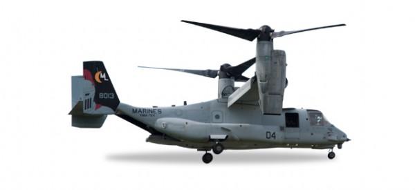 "HERPA 558365 Bell/Boeing MV-22 Osprey U.S. Marine Corps - VMM-764 ""Moonlight"""