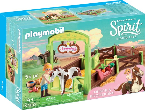 PLAYMOBIL® 9480 Pferdebox Abigail & Boomerang