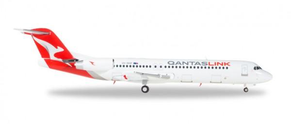 HERPA 559096 QantasLink Fokker 100 - VH-NHP