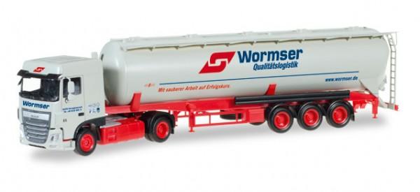 "HERPA 306577 DAF XF Euro 6 SC Silo-Sattelzug ""Wormser"""