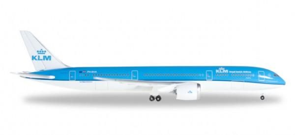Herpa 528085-001 KLM Boeing 787-9 Dreamliner