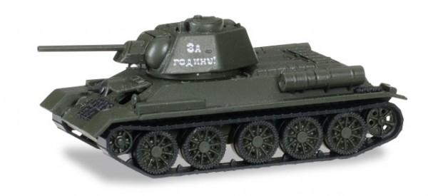 """HERPA 745659 T-34/76. Sowjetischer mittlerer Kampfwagen """"Für die Heimat"""" Schlacht in Polen 1944"""