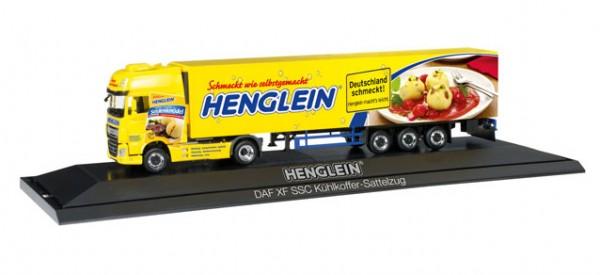 "HERPA 121736 DAF XF SSC Euro 6 Kühlkoffer-Sattelzug ""Henglein"", PC"