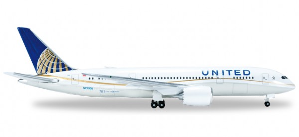 "HERPA 523837-002 United Airlines Boeing 787-8 ""Dreamliner"""