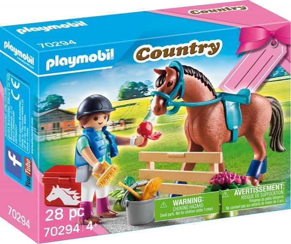 PLAYMOBIL® 70294 Geschenkset-Reiterhof