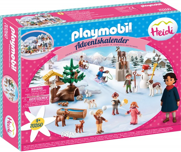PLAYMOBIL® 70260 Adventskalender Heidis Winterwelt
