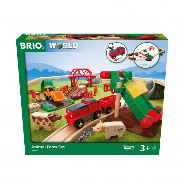 BRIO 33984 Großes BRIO Bahn Bauernhof - Set