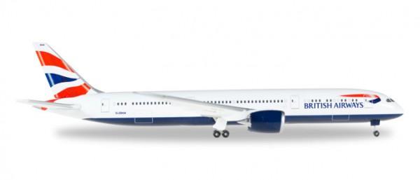 HERPA 528948-001 British Airways Boeing 787-9 Dreamliner - G-ZBKM