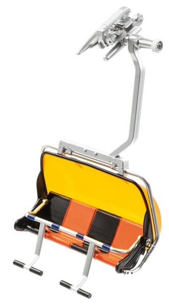 JC87150 4 er Sessel orange/schwarz
