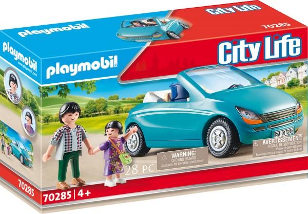 PLAYMOBIL® 70285 Papa und Kind mit Cabrio