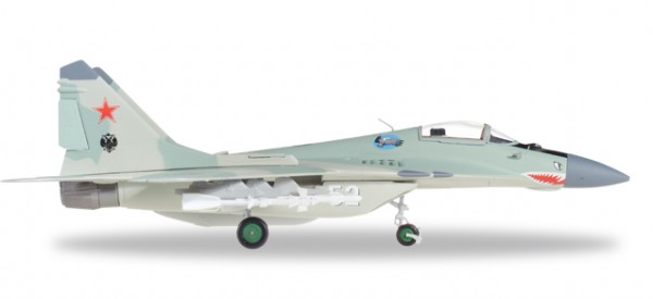 HERPA 580236 Russian Air Force Mikoyan MiG-29 (9-12) Fulcrum-A - 120th GvlAP (Guards Fighter Aviati