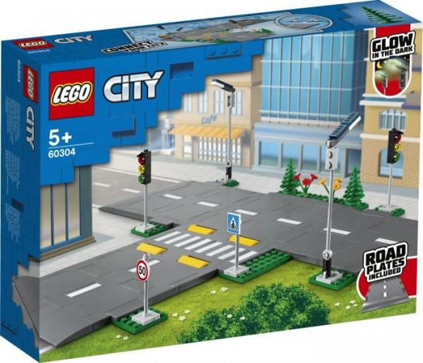 LEGO® City 60304 Straßenkreuzung mit Ampeln