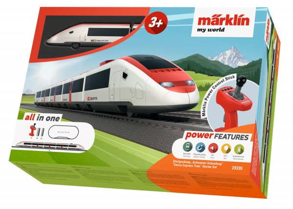 Märklin 029335 Startpackung Schweizer Schnellzug - my world