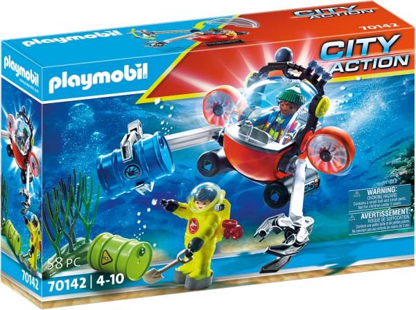 PLAYMOBIL® 70142 Seenot: Umwelteinsatz mit Tauchboot