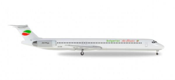 HERPA 530392 Bulgarian Air Charter McDonnell Douglas MD-82 - LZ-LDS