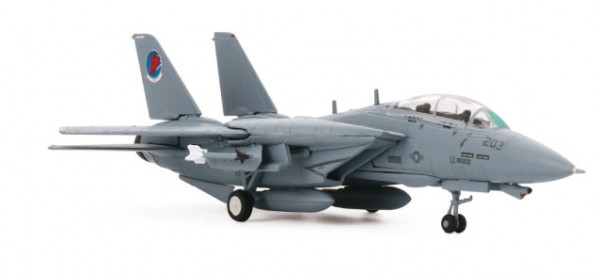 "HERPA 82TSMWTP004 Northrop Grumman F-14A – VF-1 #203 Top Gun Movie ""Cougar & Merlin"""