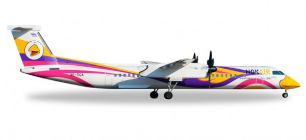 """HERPA 529662 Nok Air Bombardier Q400 """"Nok Anna"""""""