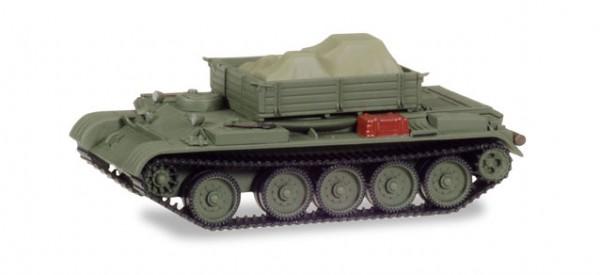 HERPA 745901 Werkstattpanzer T-54 mit Ladung unter Plane