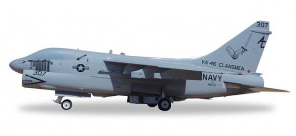 """HERPA 580175 U.S. Navy Vought A-7E Corsair II """"Clansmen"""""""