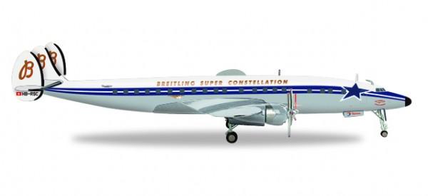 HERPA 558488 SCFA / Breitling Lockheed L-1049H Super Constellation - HB-RSC