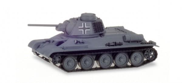 HERPA 746045 Kampfpanzer T-34/76 mit deutscher Kommandantenkuppel