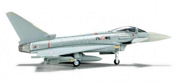 Herpa 553094-001 Austrian Air Force, Eurofighter Typhoon Überwachungsgeschwader