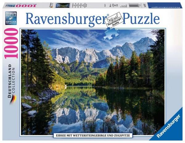 Ravensburger 19 367 7 Eibsee mit Wettersteingebirge und Zugspitze